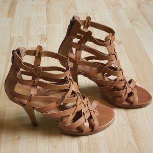 Express gladiator caged heels